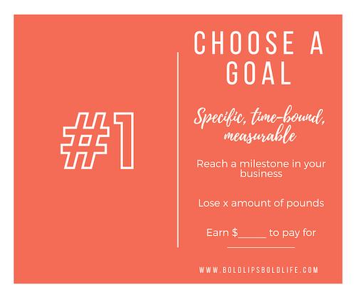 Choosing a Goal for 2018