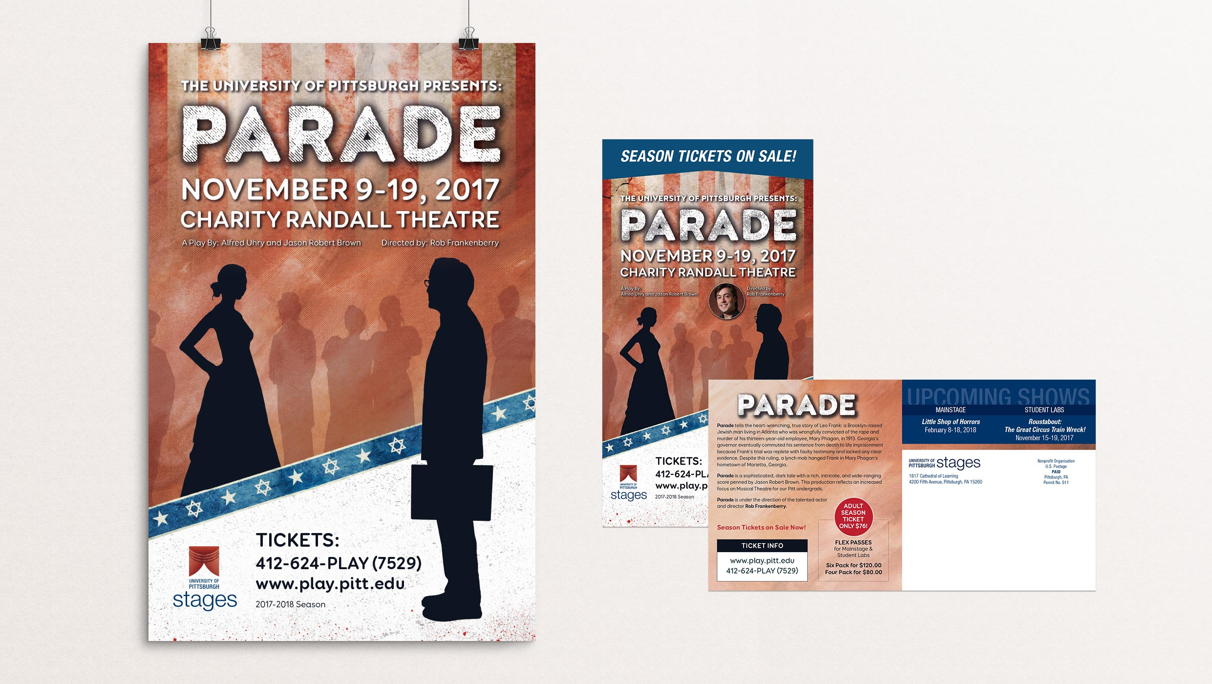 Parade poster designed by Tara Hoover