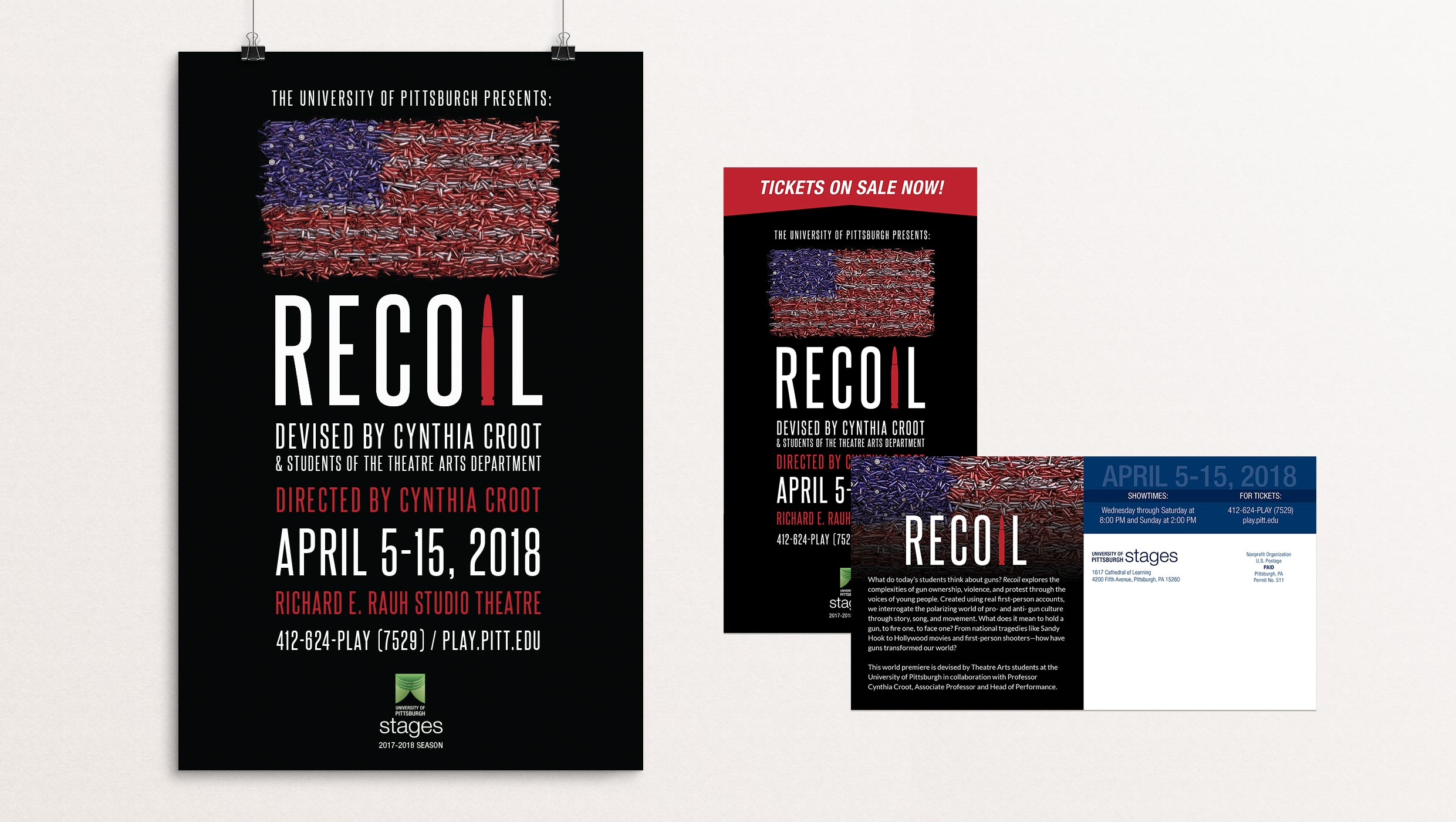 Recoil poster designed by Tara Hoover