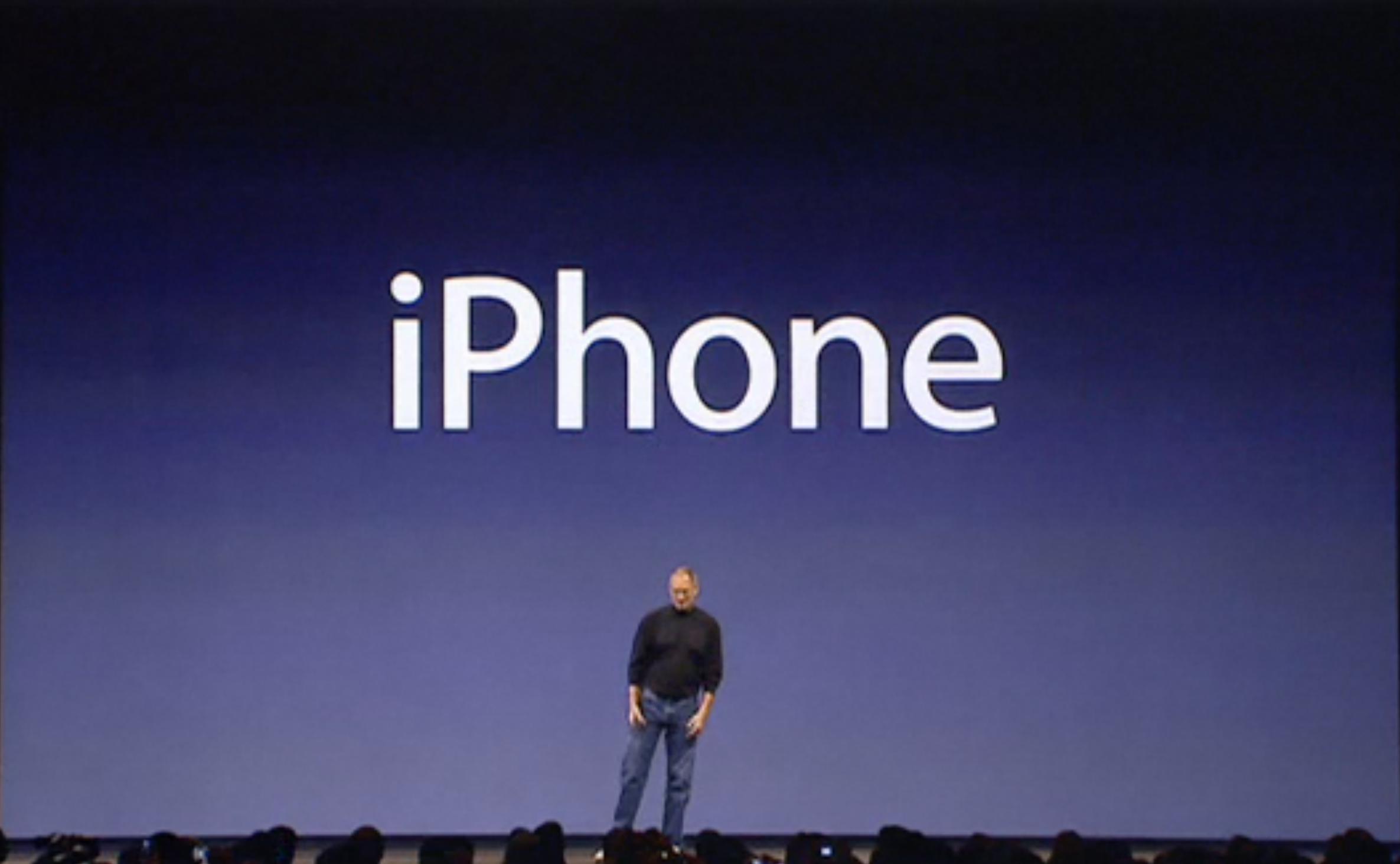 iPhone announcement presenation