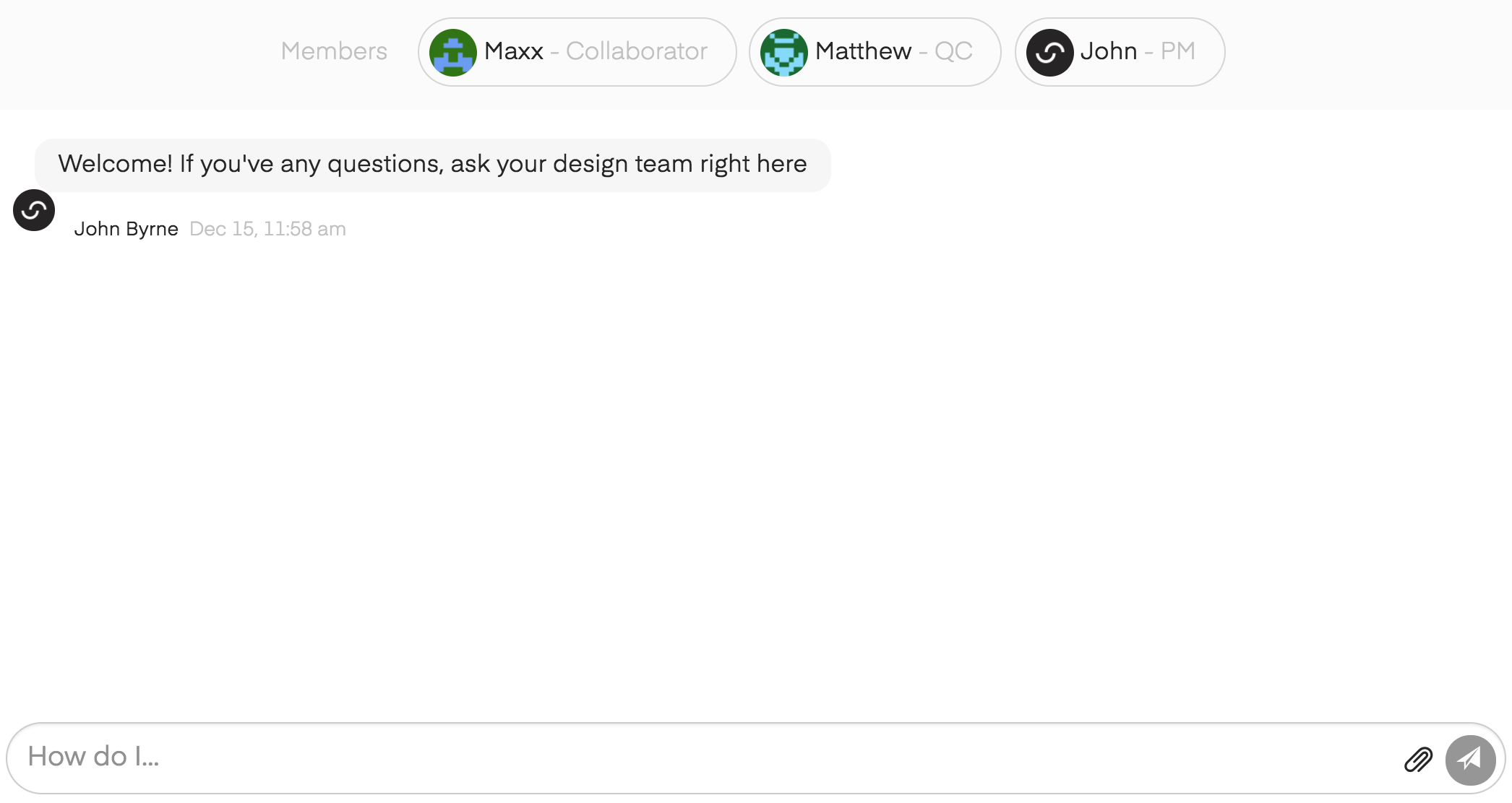 Chatting with SketchDeck image