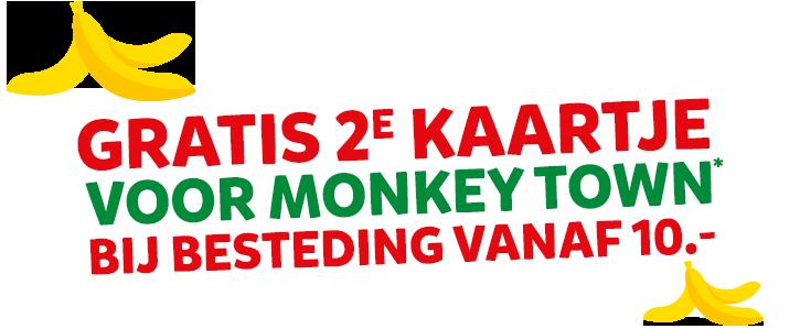 Koop bij Intertoys en ga Gratis naar Monkey Town